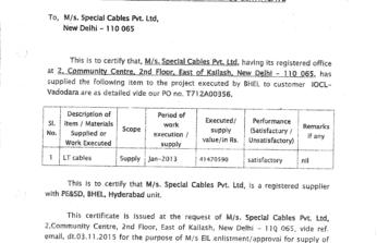 bhel-hyd-performance-certificate